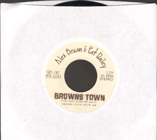 Bevan, Alex & Pat Dailey - Browns Town/Superbowl Bound - VG6/ - 45 rpm Records