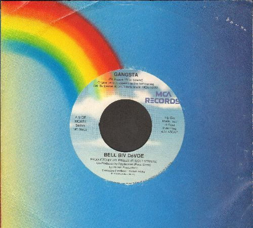 Bell Biv Devoe - Gangsta/Gangsta (Instrumental) (with MCA company sleeve) - NM9/ - 45 rpm Records