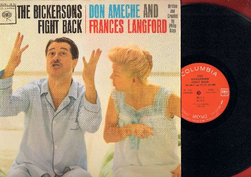 Ameche, Don & Frances Langford - The Bickersons Fight Back: 4 HILARIOUS Rounds in the Ring with America's Favorite bickering comedy couple! (Vinyl MONO LP record) - EX8/EX8 - LP Records