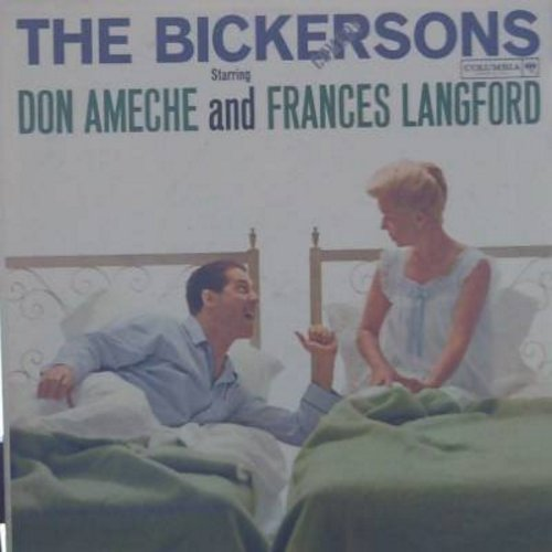 Ameche, Don & Frances Langford - The Bickersons - Hilarious Comedy Routines with the Classic Bickering Spouses! (vinyl MONO LP record) - EX8/VG7 - LP Records