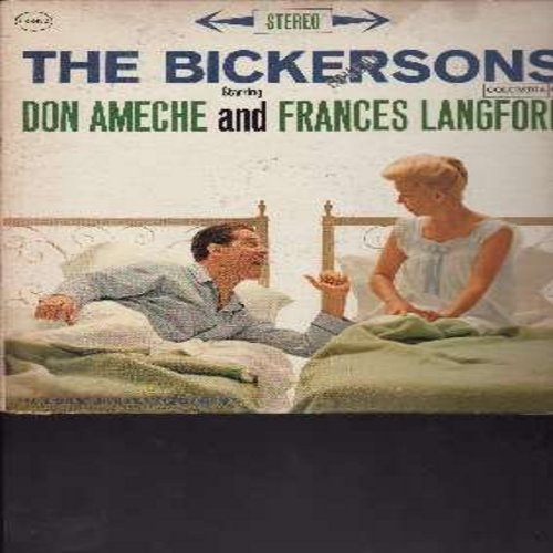 Ameche, Don & Frances Langford - The Bickersons - Hilarious Comedy Routines with the Classic Bickering Spouses! (Vinyl STEREO LP record) - EX8/EX8 - LP Records