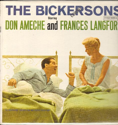 Ameche, Don & Frances Langford - The Bickersons - Hilarious Comedy Routines with the Classic Bickering Spouses! (Vinyl MONO LP record, SEALED, never opened!) - SEALED/SEALED - LP Records