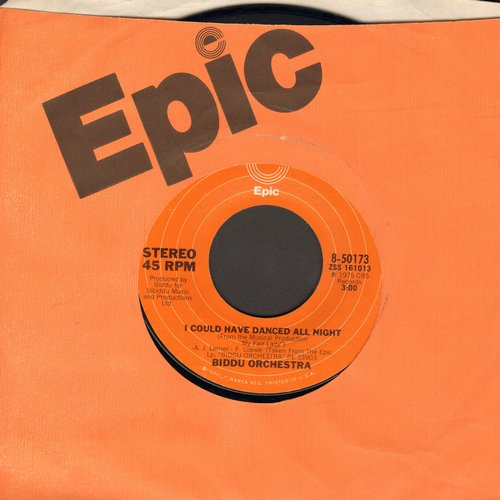Biddu Orchestra - I Could Have Danced All Night/Jump For Joy (with original company sleeve) - EX8/ - 45 rpm Records