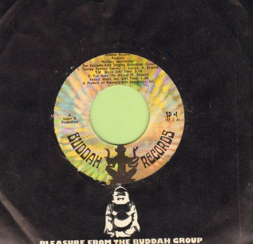 Kasenetz-Katz Singing Orchestral Circus - Buddah Records Presents Holiday Spectacular - 4 track vinyl EP record with Buddah company sleeve. (bb) - EX8/ - 45 rpm Records