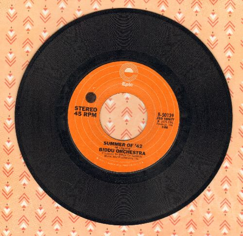 Biddu Orchestra - Summer Of '42/Northern Dancer - EX8/ - 45 rpm Records