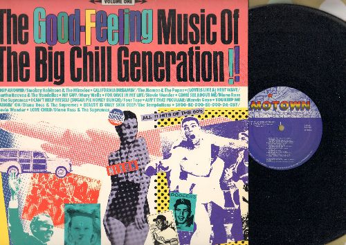 Robinson, Smokey & The Miracles, Mary Wells, Four Tops, others - The Good-Feeling Music Of The Big Chill Generation!!: Shop Around, California Dreamin', My Guy, I Can't Help Myself, Love Child (Vinyl LP record) - NM9/NM9 - LP Records