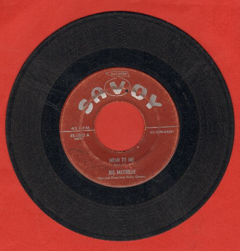 Big Maybelle - Mean To Me/Tell Me Who - G5/ - 45 rpm Records