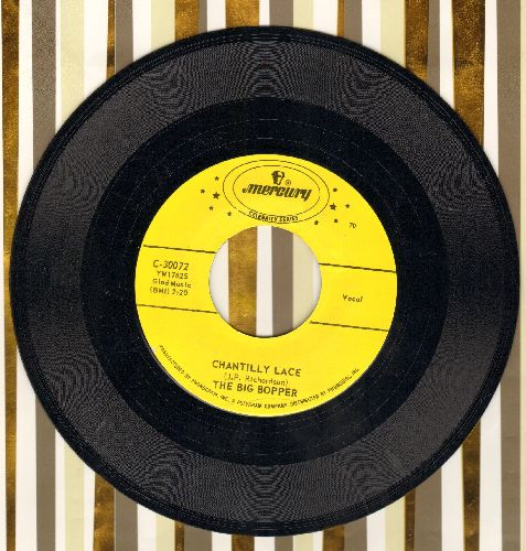 Big Bopper - Chantilly Lace/Big Bopper's Wedding (double-hit re-issue) - NM9/ - 45 rpm Records