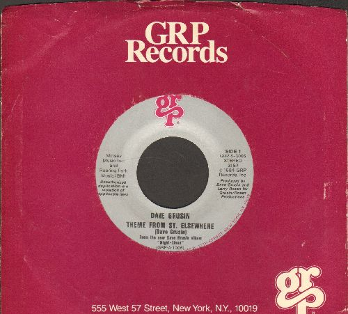 Grusin, Dave - Theme From St. Elsewhere/Night-Lines (with company sleeve) - NM9/ - 45 rpm Records