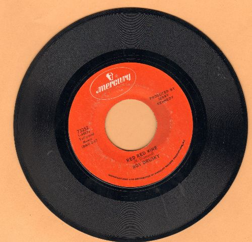 Drusky, Roy - Red Red Wine/Without You Baby - EX8/ - 45 rpm Records