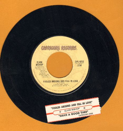 Bishop, Elvin - Fooled Around And Fell In Love/Slick Titty Boom (with juke box label) - EX8/ - 45 rpm Records