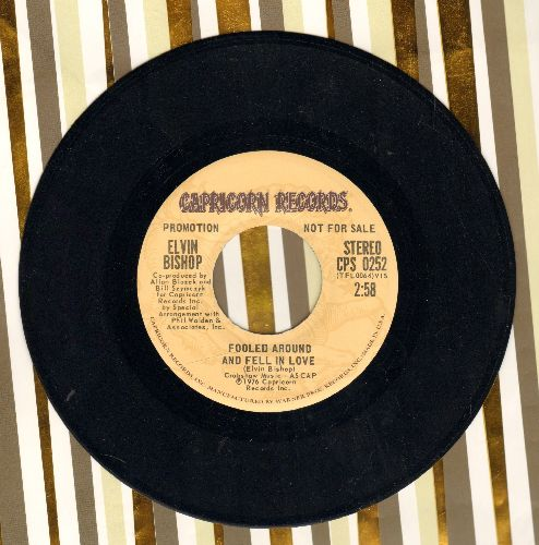 Bishop, Elvin - Fooled Around And Fell In Love (double-A-sided DJ advance pressing with MONO and STEREO version) - NM9/ - 45 rpm Records