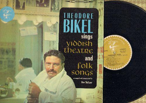 Bikel, Theodore - Yiddish Theatre and Folk Songs: Beygelach, A Pintale, Dire-Gelt, A Finf-Un-Tsvantsiger, Kalt Vasser, Machateyneste Mayne, Yossel Der Klezmer (Vinyl STEREO LP record) - NM9/EX8 - LP Records