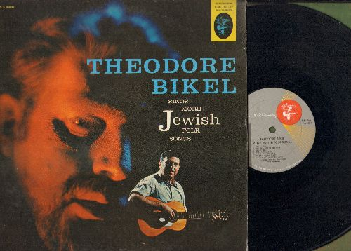 Bikel, Theodore - Theodore Bikel Sings More Jewish Folk Songs (Vinyl MONO LP record) - NM9/EX8 - LP Records