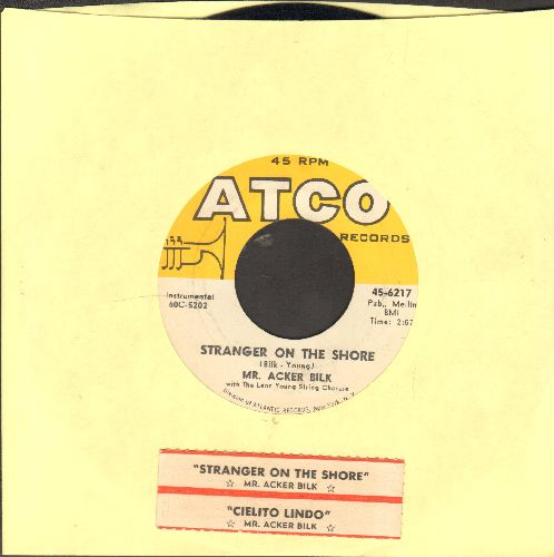 Bilk, Mr. Acker - Stranger On The Shore/Cielito Lindo (with juke box label) - EX8/ - 45 rpm Records
