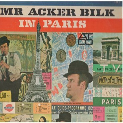 Bilk, Mr. Acker - Mr. Acker Bilk In Paris: Petite Fleur, Louise, La Mer, My Prayer (Vinyl STEREO LP record) - M10/VG7 - LP Records