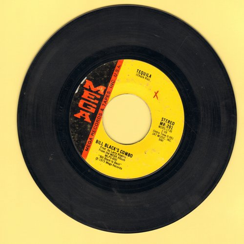 Black, Bill Combo - Tequila/Smokie: Part II  - EX8/ - 45 rpm Records