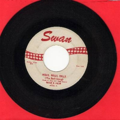 Billy & Lillie - Bells, Bells, Bells/Honeymoonin' - VG6/ - 45 rpm Records