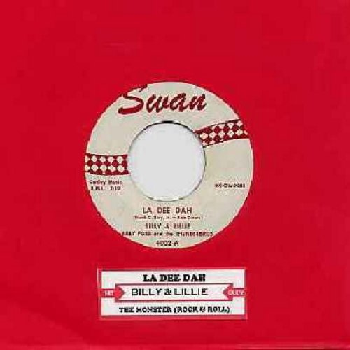 Billy & Lillie - La Dee Dah/The Monster (with juke box label) - EX8/ - 45 rpm Records