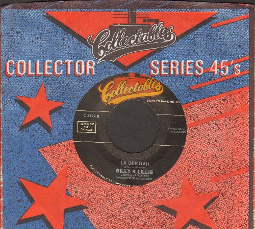 Billy & Lillie - La Dee Dah/The Night The Lights Went Out In Georgia (by Vicki Lawrence on flip-side) (re-issue) - NM9/ - 45 rpm Records