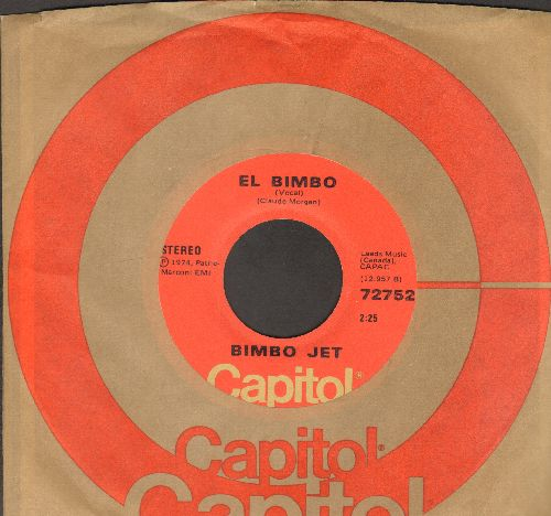 Bimbo Jet - El Bimbo (Vocal)/El Bimbo (Instrumental) (Canadian Pressing with Capitol company sleeve) - NM9/ - 45 rpm Records