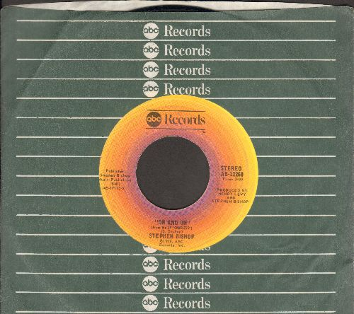 Bishop, Stephen - On And On/Little Italy (MINT condition with ABC company sleeve) - M10/ - 45 rpm Records