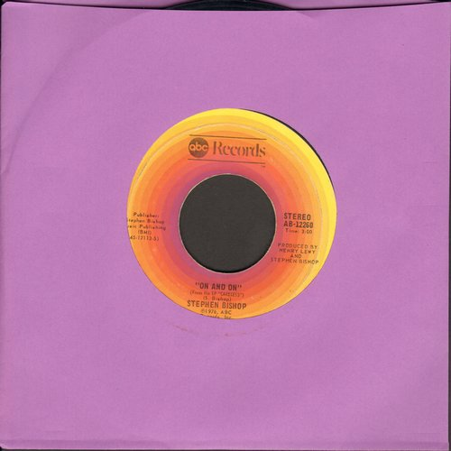 Bishop, Stephen - On And On/Little Italy  - EX8/ - 45 rpm Records