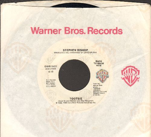 Bishop, Stephen - It Might Be You (Theme From -Tootsie-)/Metamorphosis Blues (It Must Be You - Insterumental)(re-issue with company sleeve) - EX8/ - 45 rpm Records