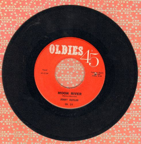 Butler, Jerry - Moon River/Aware Of Love (double-hit re-issue) (bb) - EX8/ - 45 rpm Records
