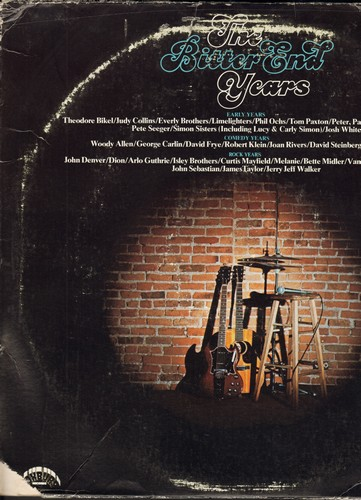 Bikel, Theodore, Everly Brothers, George Carlin, Van Morrison, Dion, David Frye, others - The Bitter End Years - 3 vinyl LP record set featuring The Eraly Years/Comedy Years and Rock Years of the Classic Vinyl Era (Original 1974 STEREO issue) - NM9/VG6 -
