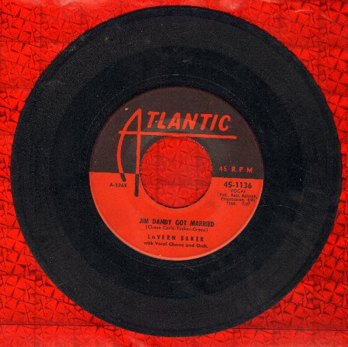 Baker, LaVern - Jim Dandy Got Married/The Game Of Love - VG7/ - 45 rpm Records
