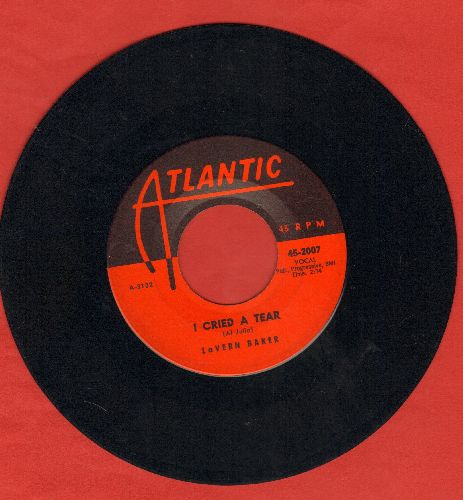 Baker, LaVern - I Cried A Tear/Dix-A-Billy  - NM9/ - 45 rpm Records