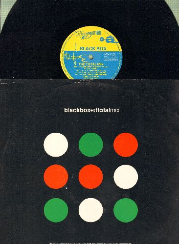 Black Box - Black Box - The Total Mix/I Don't Know Anybody Else (12 inch Maxi Single, Brtish Pressing with picture cover) - NM9/EX8 - LP Records