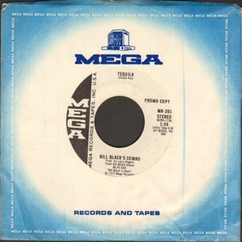 Black, Bill Combo - Tequila/Smokie: Part II (DJ advance pressing with Mega company sleeve) - M10/ - 45 rpm Records