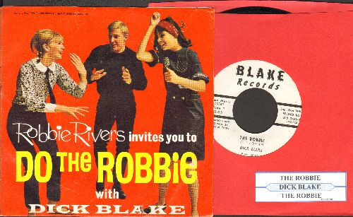 Blake, Dick - Do The Robbie  (with juke box label and picture sleeve!) - NM9/EX8 - 45 rpm Records