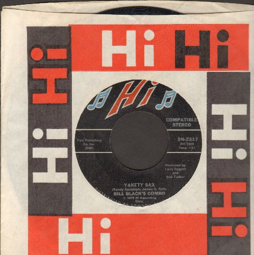 Black, Bill Combo - Yakety Yak (featured Theme of -The Benny Hill Show-)/Redneck Rock - EX8/ - 45 rpm Records