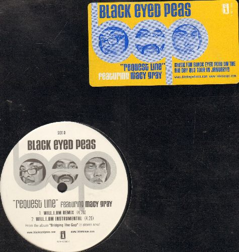 Black Eyed Peas - Request Line - 5 Extended Hip Hop Tracks on 12 inch vinyl Maxi Single with picture cover. - EX8/EX8 - Maxi Singles