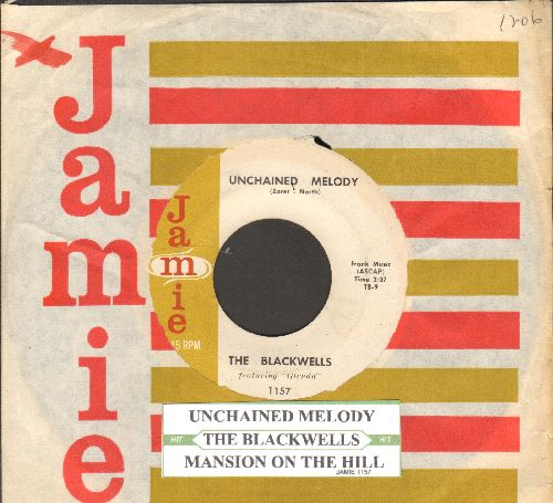 Blackwells - Unchained Melody/Mansion On The Hill - NM9/ - 45 rpm Records