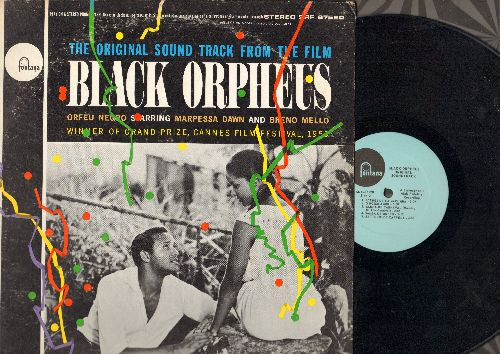 Black Orpheus - Black Orpheus - Original Motion Picture Soundtrack (vinyl STEREO LP record) - NM9/VG7 - LP Records
