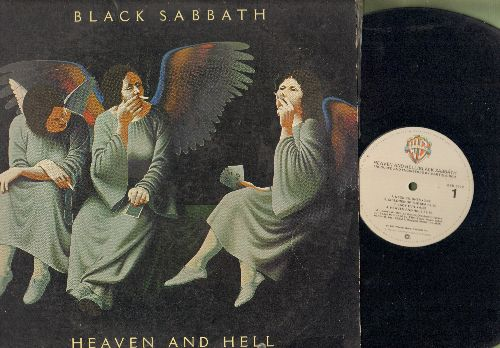 Black Sabbath - Heaven And Hell: Neon Knights, Walk Away, Die Young, Lady Evil (vinyl LP record) - VG7/VG7 - LP Records