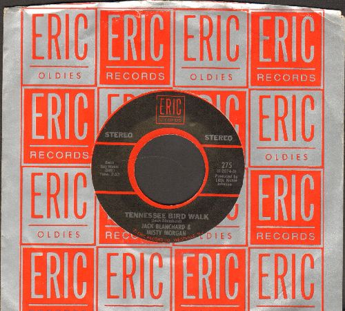 Blanchard, Jack & Misty Morgan - Tennessee Bird Walk/Help Me Make It Through The Night (by Sammi Smith on flip-side) (re-issue with Eric company sleeve) - EX8/ - 45 rpm Records
