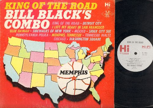 Black, Bill Combo - King Of The Road: King Of The Road, Detroit City, I Left My Heart In San Francisco, Blue Hawaii, Mexico, Sidewalks Of New York, Sioux City Sue, Chicago, Pennsylvania Polka, Memphis, Tennessee, Tennessee Waltz, Washington Square (Vinyl