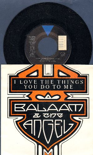Balaam & The Angel - I Love The Things You Do To Me/Warm Again (with picture sleeve) - NM9/NM9 - 45 rpm Records