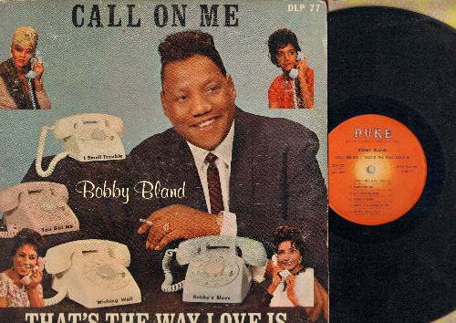 Bland, Bobby - Call On Me/That's The Way Love Is: Queen For A Day, Honky Tonk, Share Your Love With Me (vinyl MONO LP record, RARE 1963 first pressing) - VG6/VG7 - LP Records