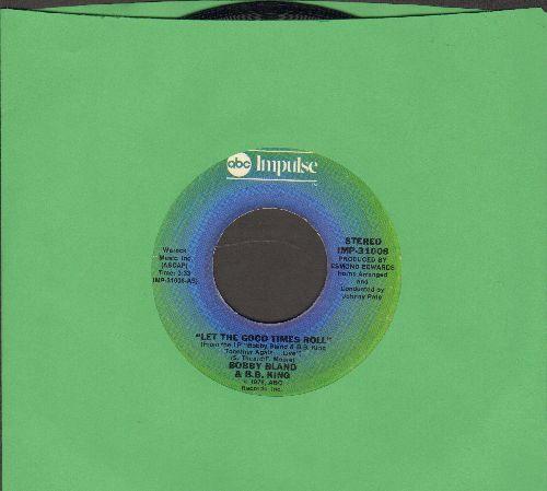 Bland, Bobby & B. B. King - Let The Good Times Roll/Strange Things - EX8/ - 45 rpm Records