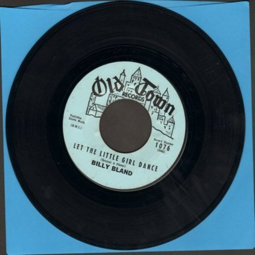 Bland, Billy - Let The Little Girl Dance/Sweet Thing  - VG7/ - 45 rpm Records
