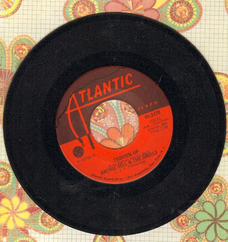 Bell, Archie & The Drells - Tighten Up (Parts 1 + 2)  - EX8/ - 45 rpm Records
