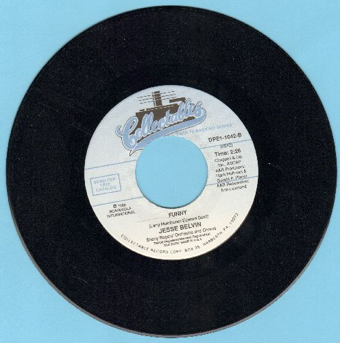 Belvin, Jesse - Guess Who/Funny (MINT condition authentic-looking double-hit re-issue with RCA company sleeve) - M10/ - 45 rpm Records