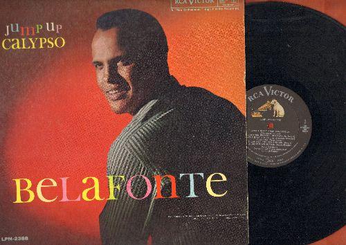Belafonte, Harry - Jump Up Calypso: Sweetheart From Venezuela, Gloria, Kingston Market, Angelina (vinyl MONO LP record) - EX8/EX8 - LP Records