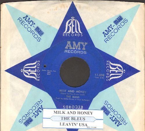 Bleus - Milk And Honey/Leavin' Lisa (with company sleeve) (bb) - EX8/ - 45 rpm Records